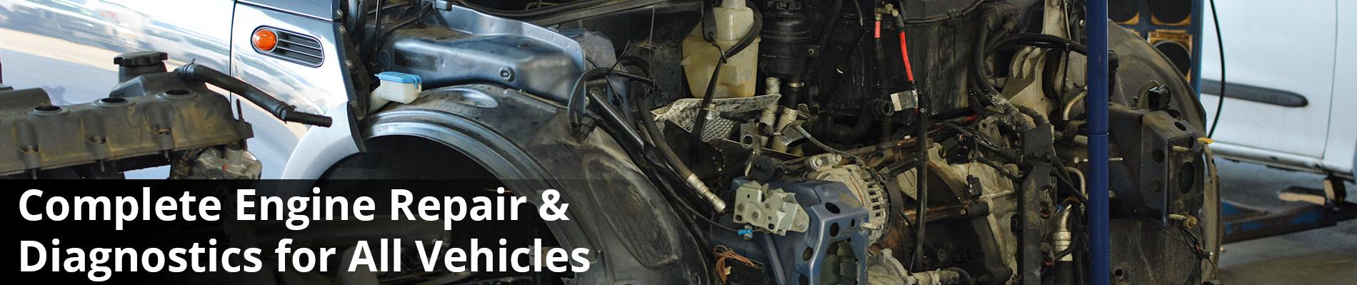 Brakes, Suspension, Engines and Transmissions - We Really Do It All!