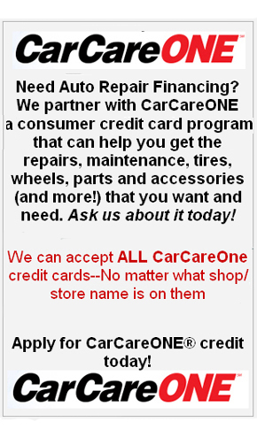 CarCareONE Apply for Credit